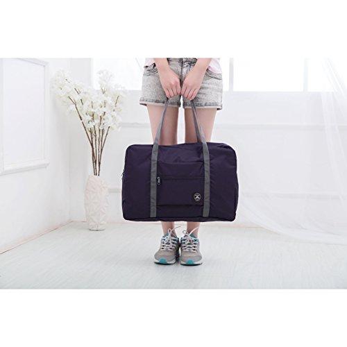 5146c0b965d8 FUNFEL Travel Foldable Duffel Bag for Women & Men, Waterproof ...