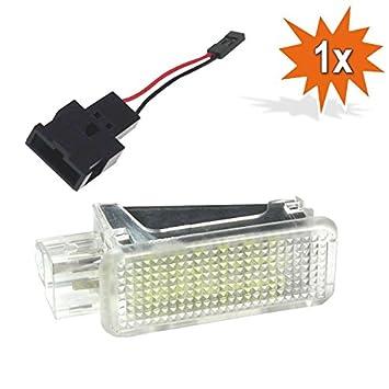 1 X Do.LED Ar18 LED SMD Iluminación Interior Interior Soporte Espacio para Maletero Einstiegs/Puerta Iluminación Xenón: Amazon.es: Coche y moto