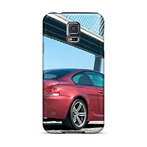 Carolcase168 Scratch-free Phone Cases For Galaxy S5- Retail Packaging - Red Bmw M6 Rear Angle