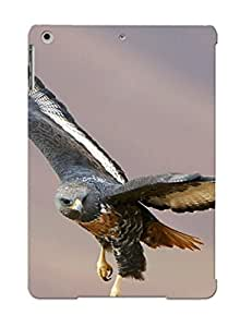 Ipad Air Case, Premium Protective Case With Awesome Look - Hawk (gift For Christmas)