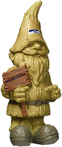 Seattle Seahawks Resin Wood Gnome ()