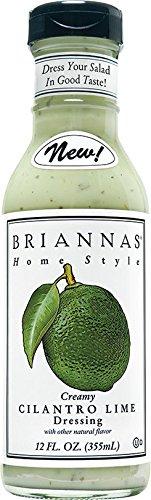 Briannas Creamy Cilantro Lime Dressing 12 oz (Pack of 2) ()