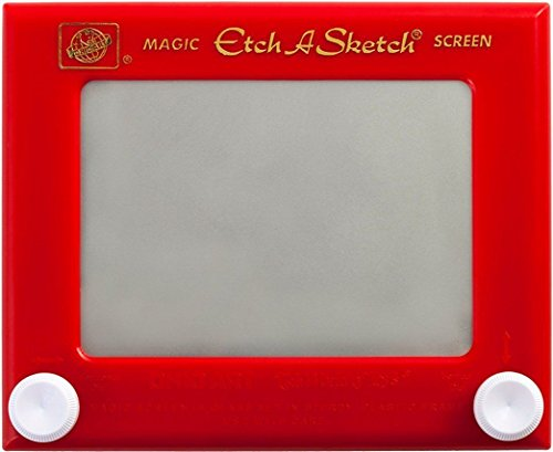 Classic Etch-A-Sketch Toy from Toysmith