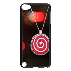 iPhone 5,5S Case,Love Sweet Candy Hard Shell Back Case for Black iPhone 5,5S Okaycosama299444