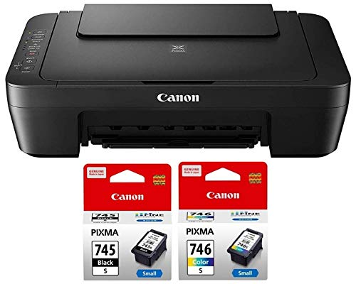 Canon MG3070S All in One Inkjet Colour Printer with PG745S   CL746S Ink Cartridge
