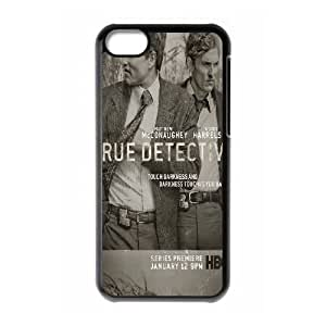 iPhone 5c Cell Phone Case Black True Detective E3N1OB
