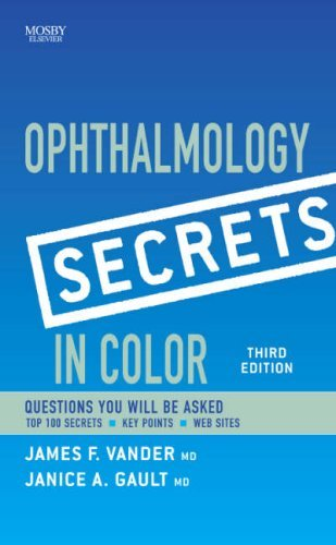 By James F. Vander MD Ophthalmology Secrets in Color, 3e (3rd Edition) [Paperback] pdf