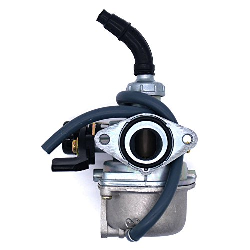 (NIMTEK PZ19 19mm Carburetor with Hand Choke for TAOTAO Sunl Honda CRF 50cc 70cc 90cc 110cc 125cc ATV Dirt Bike and Go Kart)