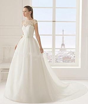 LUCKY-U Vestido de novia Vestido de novia Vestido de bola Paseo Fiesta Elegante Mujer