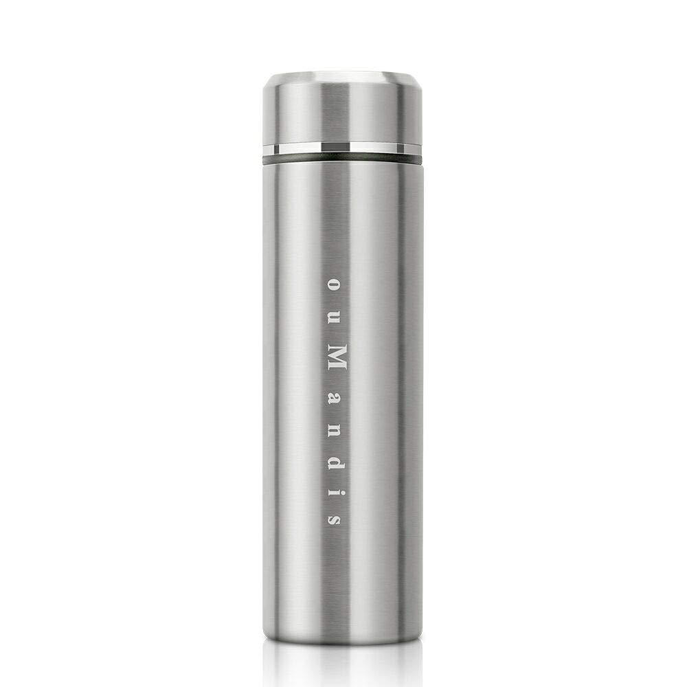 18/10 Stainless Steel Thermos Water Bottle,Wide Mouth Double Walled Vacuum Thermos Flask, Cold 12 Hours, Hot 24 Hours