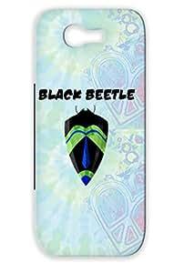 Geek Superhero Nerd Green For Sumsang Galaxy Note 2 Black Beetle Case