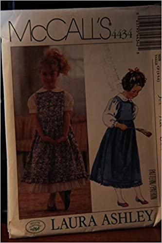 1039f474d441 McCall's Pattern 4434 Size CF (4-5-6) / Laura Ashley / Children's ...