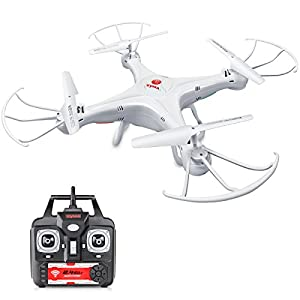 DoDoeleph Syma X5A-1 RC Headless Quadcopter Toys RTF 2.4Ghz 6-Axis Gyro Drone Without Camera Includes Bonus Battery 41BMUgsIljL