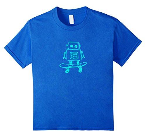 kids robot shirt - 9