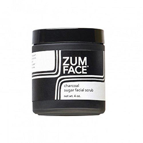 Indigo Wild Zum Charcoal Sugar Facial Scrub, 4 Ounce