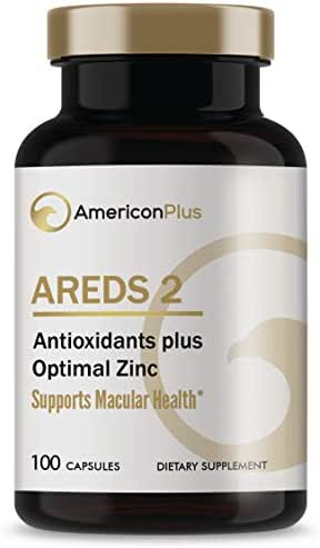 AREDS 2 Eye Vitamins for Macular Health; Based on AREDS and AREDS2 Eye Health Studies; Medical Doctor Research Certified; 100 Capsules