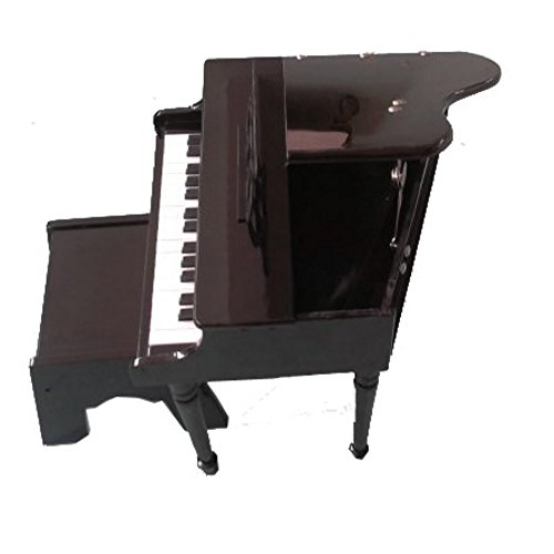 30-Key Toddlers Toy Grand Piano - Black by Generic