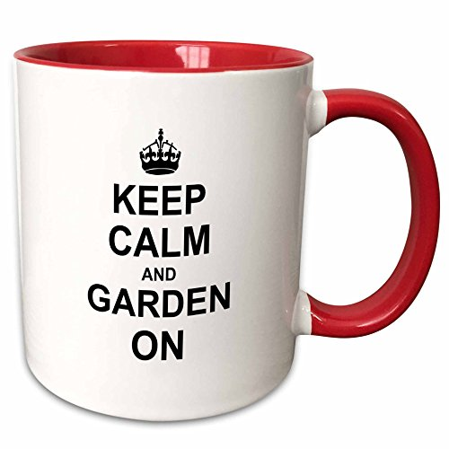 3dRose InspirationzStore Typography gardening mug 157726 5