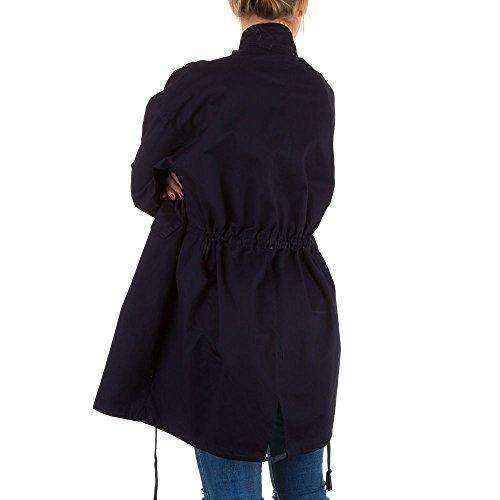 Ital-Design - Chaqueta - para mujer azul oscuro