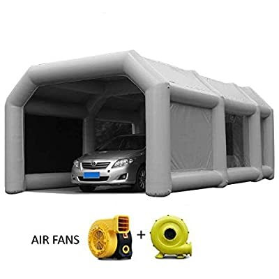 Inflatable Spray Booth Tents Inflatable Paint Inflatable Car Parking Tent Workstation
