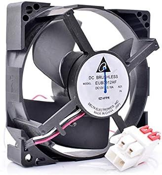 Ayazscmbs Compatible para EUB0912HF 92mm 12V 0.16A Refrigerator ...