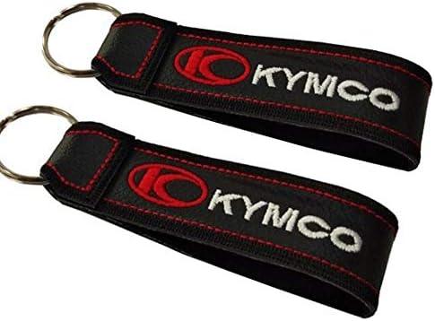 Kymco Doppelseitiger Schlüsselband 1 Stück Auto