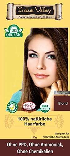 Indus Valley - Tinte para el cabello 100% natural, color ...