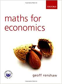 maths for economics geoff renshaw pdf download