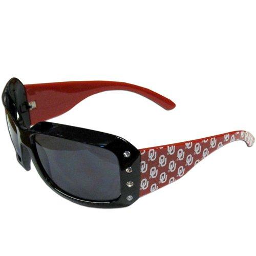 NCAA Oklahoma Sooners Women's Rhinestone Designer - Sunglasses A.ok