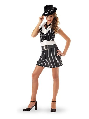 Teen Gangster Girl Kids Costume ()