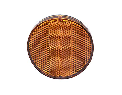 Amber Rear Reflector TF-200a for Bikes, Bicycles, trikes. Sold 1 - Amber Bicycle