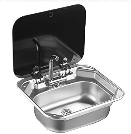 Rv Caravan Camper Stainless Steel Hand Wash Basin Kitchen Sink With