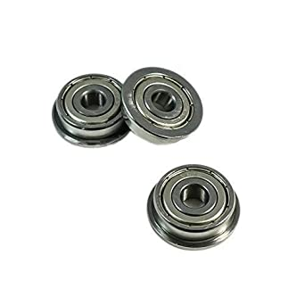 10pcs LV20//8 V Groove 8*30*14mm Sealed Ball Track Roller Guide Vgroove Bearing