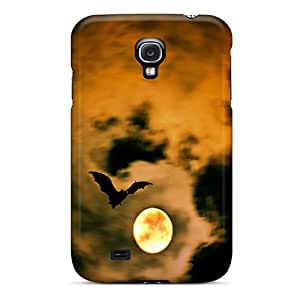 Snap-on Case Designed For Galaxy S4- Bat In Moonlight
