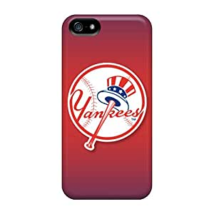Iphone 5/5s AYa15054QjLl Unique Design Nice New York Yankees Pictures Anti-Scratch Hard Cell-phone Case -ErleneRobinson