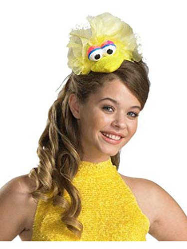 Disguise Women's Sesame Street Big Bird Adult Headband Costume Accessory, Yellow, One ()