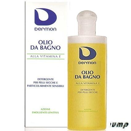 Dermon Olio Bagno Alla Vitamina E 200ml Amazon It Bellezza