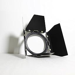 Top-Fotos 1000W Barndoor For Fresnel Tungsten Light Lighting Barn Door Of Lighting