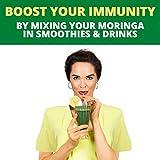 Organic Moringa Leaf Powder Raw Premium Grade 8 oz
