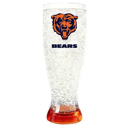 Duck House NFL Chicago Bears 16oz Crystal Freezer Pilsner by Duck House