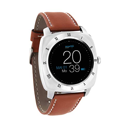 "XLYNE 54019 ""NARA XW PRO"" Smartwatch Light Cognac Brown"