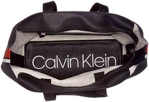 Negro K60k604457 Calvin Bolsas Mujer Klein black 7PgqwIx