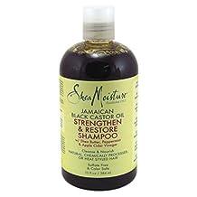 Shea Moisture Jamaican Black Castor Oil Replenishing Shampoo, 384ml