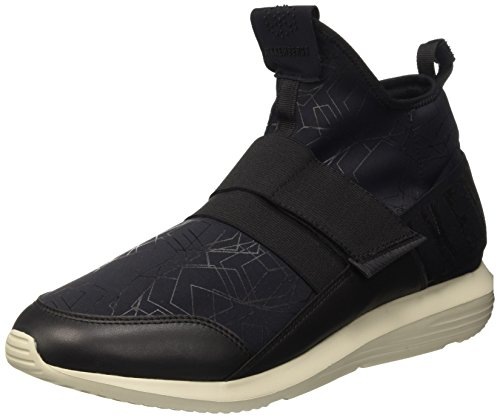 black Noir 3d Homme Baskets Hautes Mis 710 Shoe leather Speed M Lycra Bikkembergs 1awOPqHF