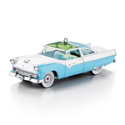 Hallmark Keepsake Ornament 1955 Ford Fairlane Crown Victoria Skyliner 2013 - Miniature Crown Collection