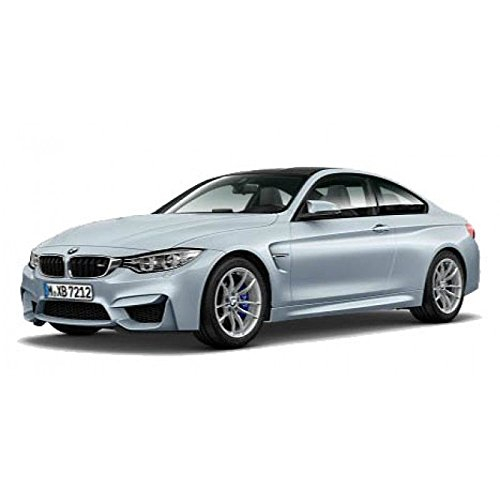 BMW M4 Coupe Silver 1/18 by Paragon 97102 by BMW (Image #1)