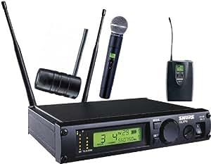 shure ulxp124 85 combo wireless system j1 musical instruments. Black Bedroom Furniture Sets. Home Design Ideas