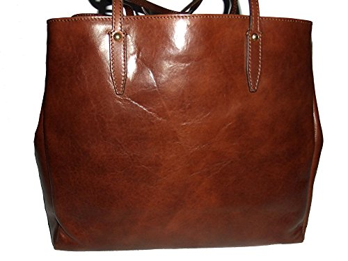 38 cm Donna tout The Bridge braun cuir fourre Story braun sac 8x0qRw
