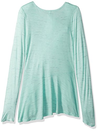 Beautees Big Girls' L/s Hi/Low Top W/Purse-Love Screen, Mint, L by Beautees (Image #2)