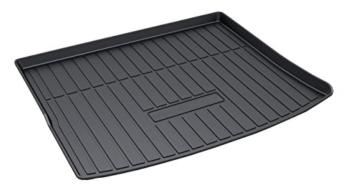 Vesul Rubber Rear Trunk Cover Cargo Liner Trunk Tray Carpet Floor Mat Fits on Jeep Cherokee 2014 2015 2016 2017 2018 from Vesul